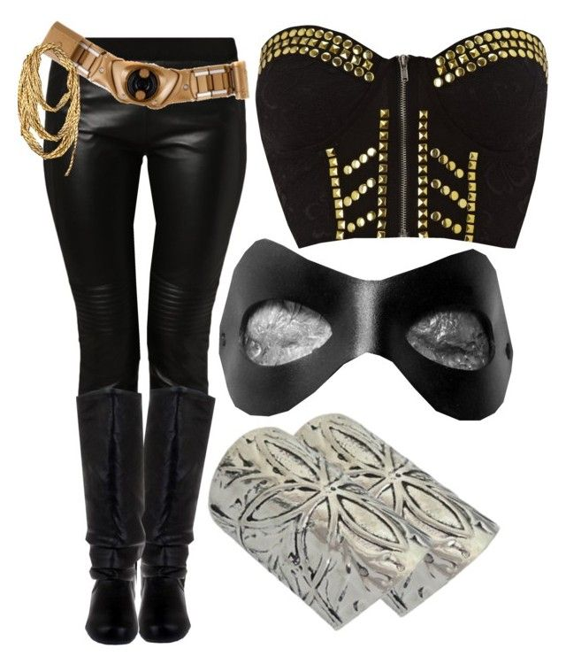 """Superhero costume"" by f3arl3ssprinc3ss ❤ liked on Polyvore featuring Ginger Fizz"