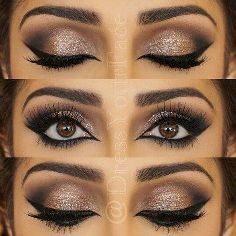 Make Up Für Braune Augen 2017 Beauty Prom Eye Makeup Eye Makeup