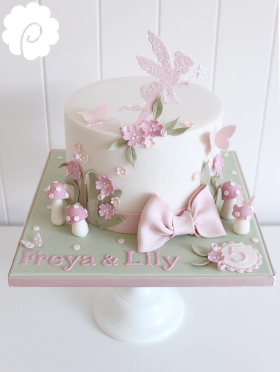 Prime Fairy Cake Con Immagini Torte Per Festa Torte Torte Per Funny Birthday Cards Online Necthendildamsfinfo