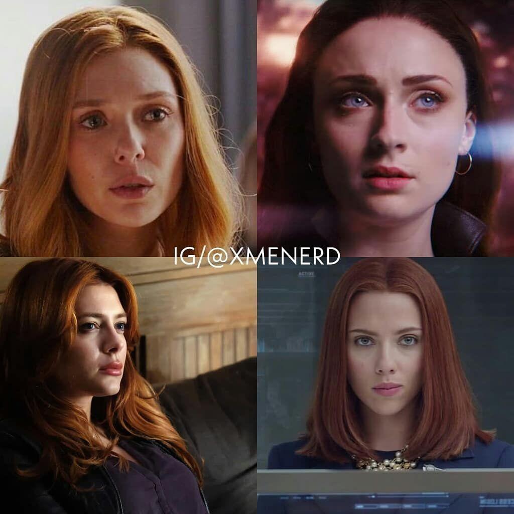 X Men Marvel On Instagram Qual A Sua Ruiva Preferida Da Marvel Segue A Gente Follow Xmenerd Jeangrey D Marvel Girls Marvel Xmen Movie