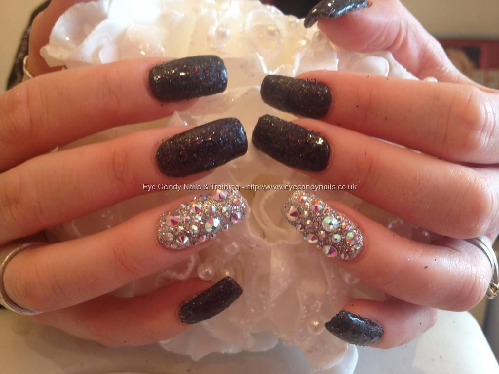 glitter acrylic nail designs | eye candy nails & training | nail