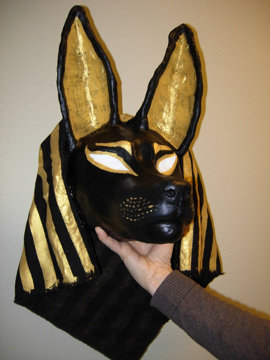 anubis mask by sunimadeviantartcom on deviantart