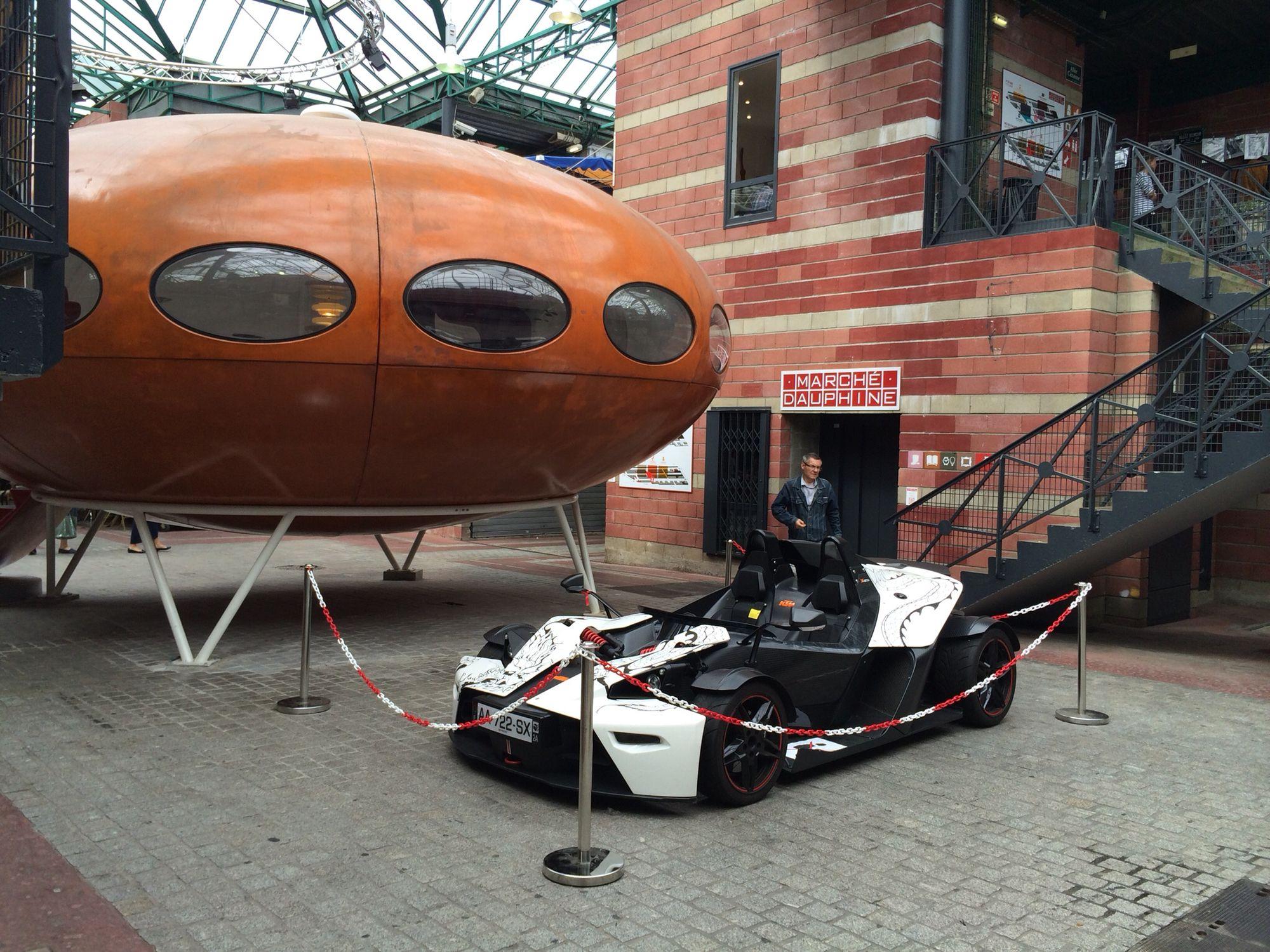 La Futuro de Ben et la KTM