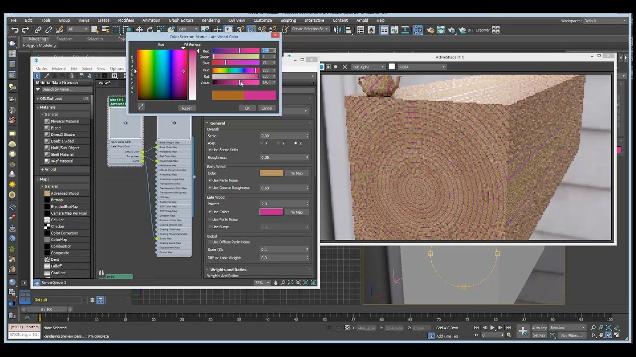 3ds Max: Advanced Wood | Materials | 3ds max, Wood