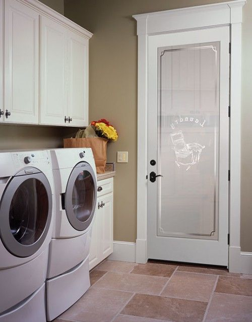 Design Your Own Laundry Room: Laundry Room Doors, Laundry Room
