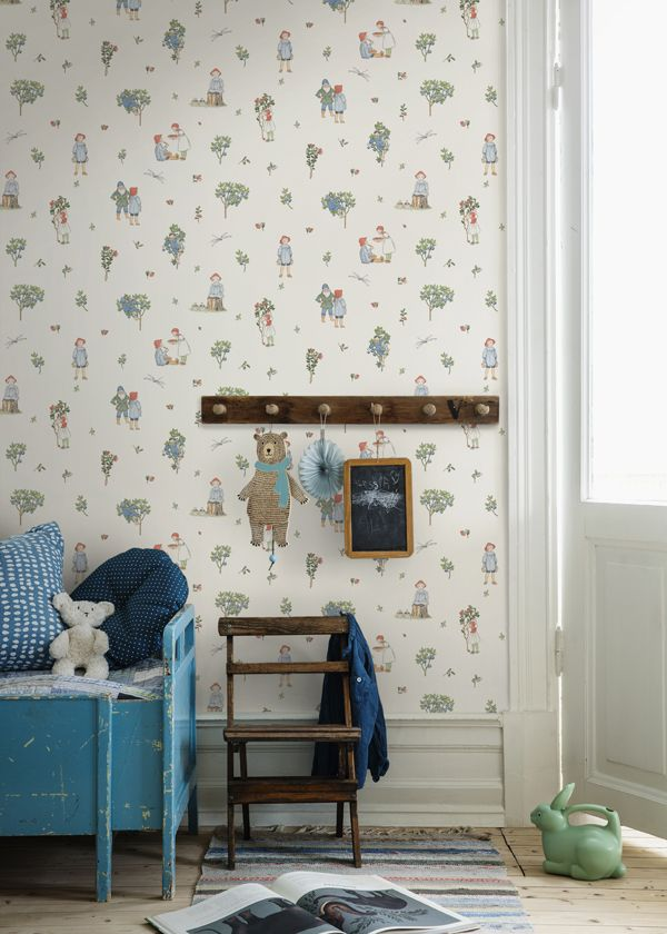 Beautiful Wallpaper For The Kid S Room Borastapeter Via Scandinavian Love Song Decoracion Habitacion Nino Cuarto De Chicas Fondo De Pantalla De Ninos