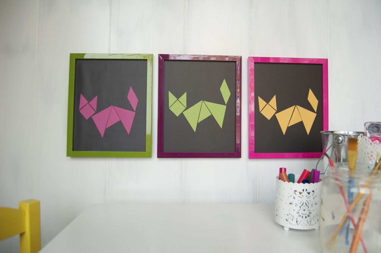 How To Make Tangrams As Changeable Art