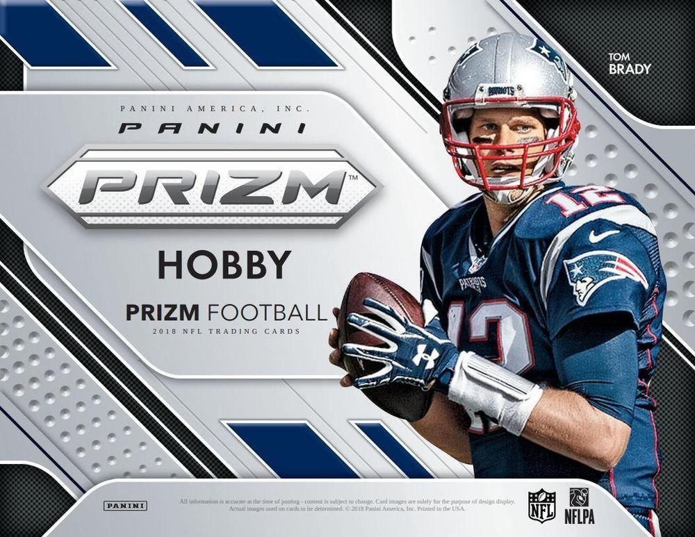 2018 panini prizm football hobby 12box case football