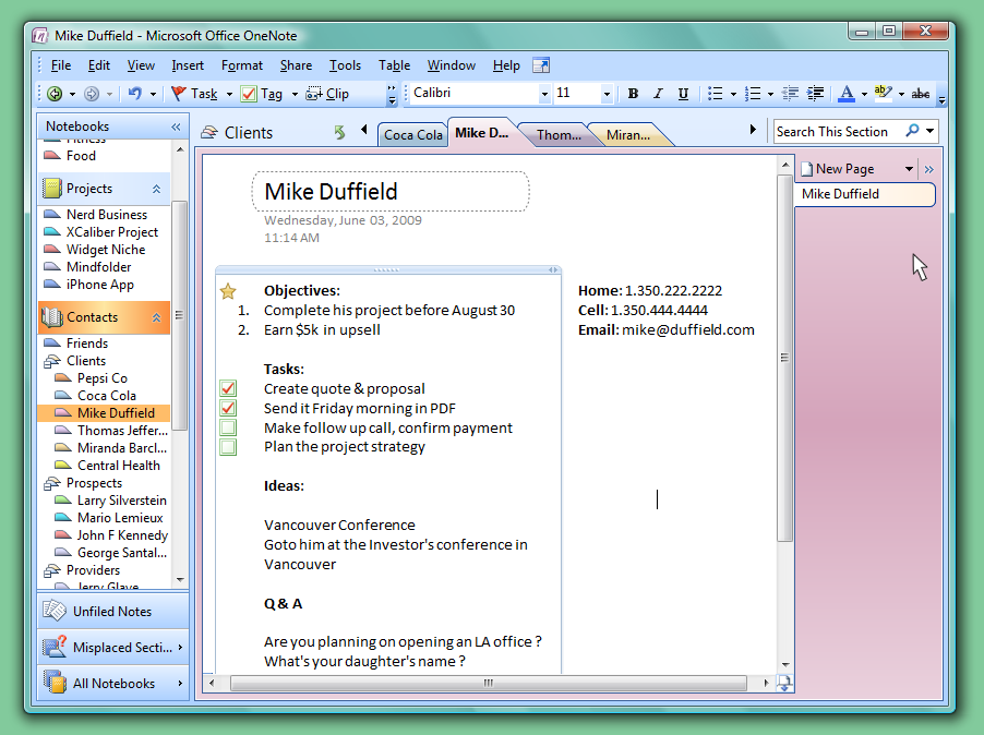How to Organize Your Life with OneNote | One Note bullet ...