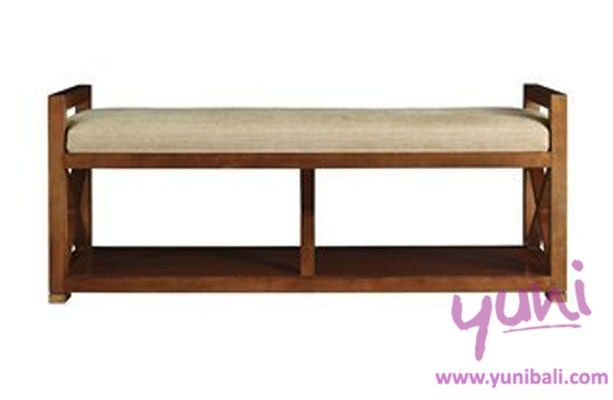 Charmant Hospitality:Morning Mist End Of Bed 120x50x60cm Awesome Indoor Wooden Sofa  Bench Bali Furniture
