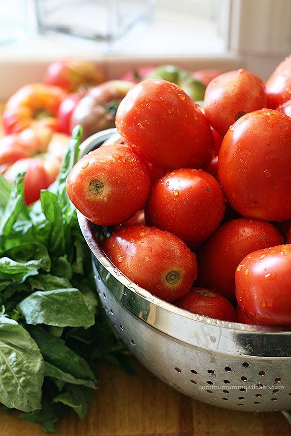 Fresh Tomato Basil Marinara Sauce Recipe - Yummy Mummy Kitchen