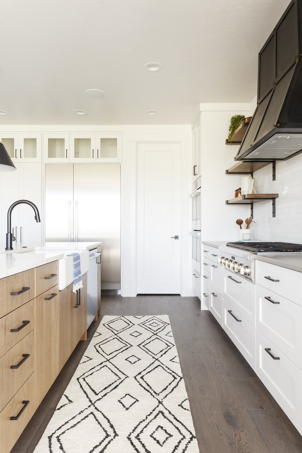 pin by alissa h on kitchen in 2020 white paneling white oak kitchen sherwin williams paint on farmhouse kitchen wall colors id=15876