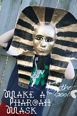 37c68338ba3d How To Make a King Tut Mask