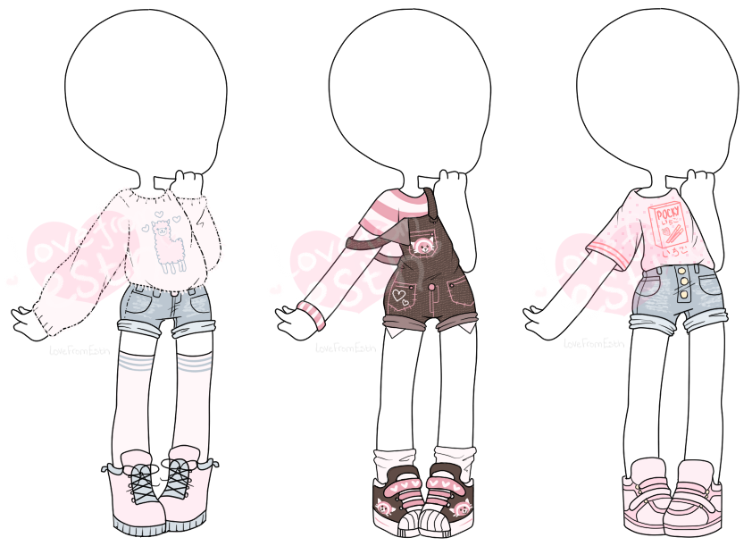 Custom Outfits Batch 15 By Lovefromesth Drawing Anime Clothes Fashion Design Drawings Drawing Clothes