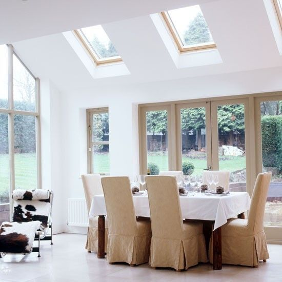 Roof Vents Retained Country Style Dining Room Dining Room Contemporary Home