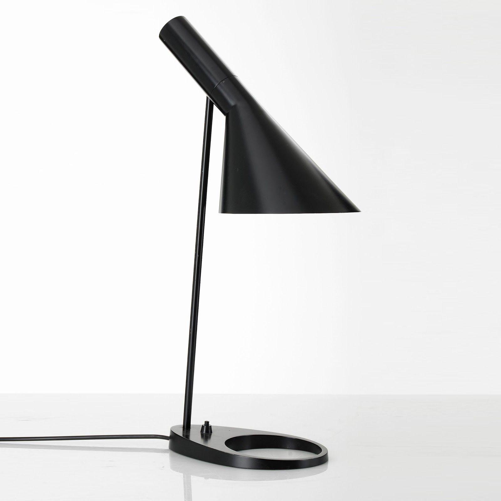 Arne Jacobsen Lamp 1957 Bordlampe Lampe Lamper