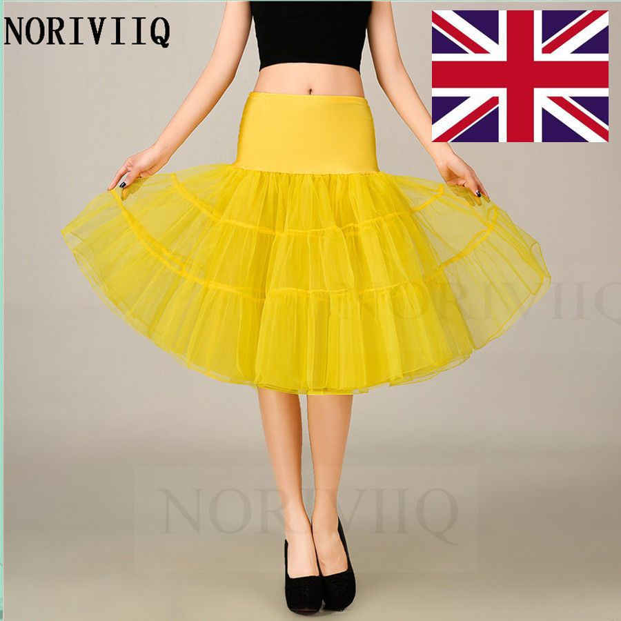 Petticoat for wedding dress  NORIVIIQ NEW Tutu Petticoat Short Underskirts Bridal Dress Dancer