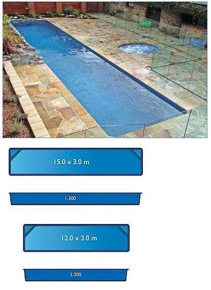 12x3 Pool Google Search Fiberglass Swimming Pools Lap Pools Backyard Pool Sizes