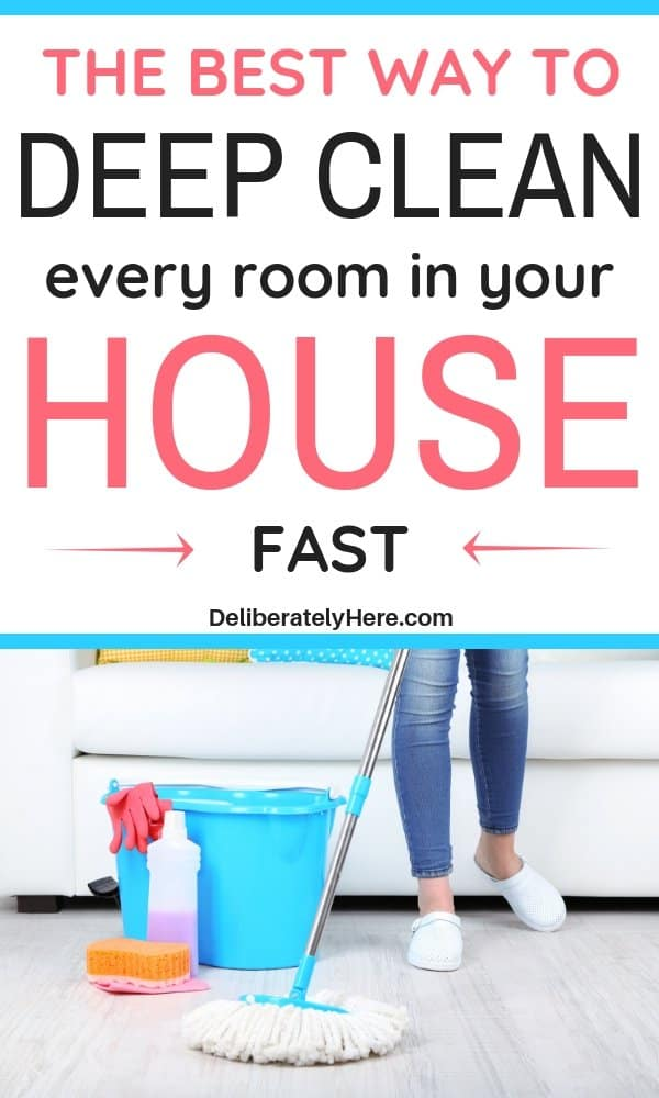 How To Deep Clean Your House Fast With The Best Expert Cleaning Tips Deep Cleaning House Deep Cleaning Cleaning Hacks