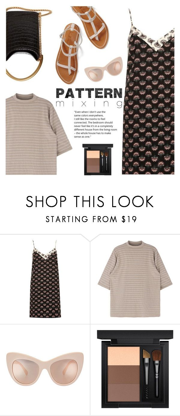 Pattern mixing by helenevlacho on Polyvore featuring River