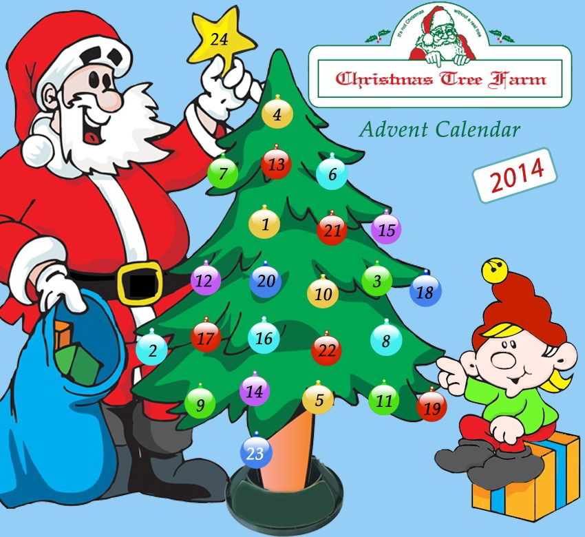 Online Advent Calendar 2014. New kid\'s Christmas activity every day ...
