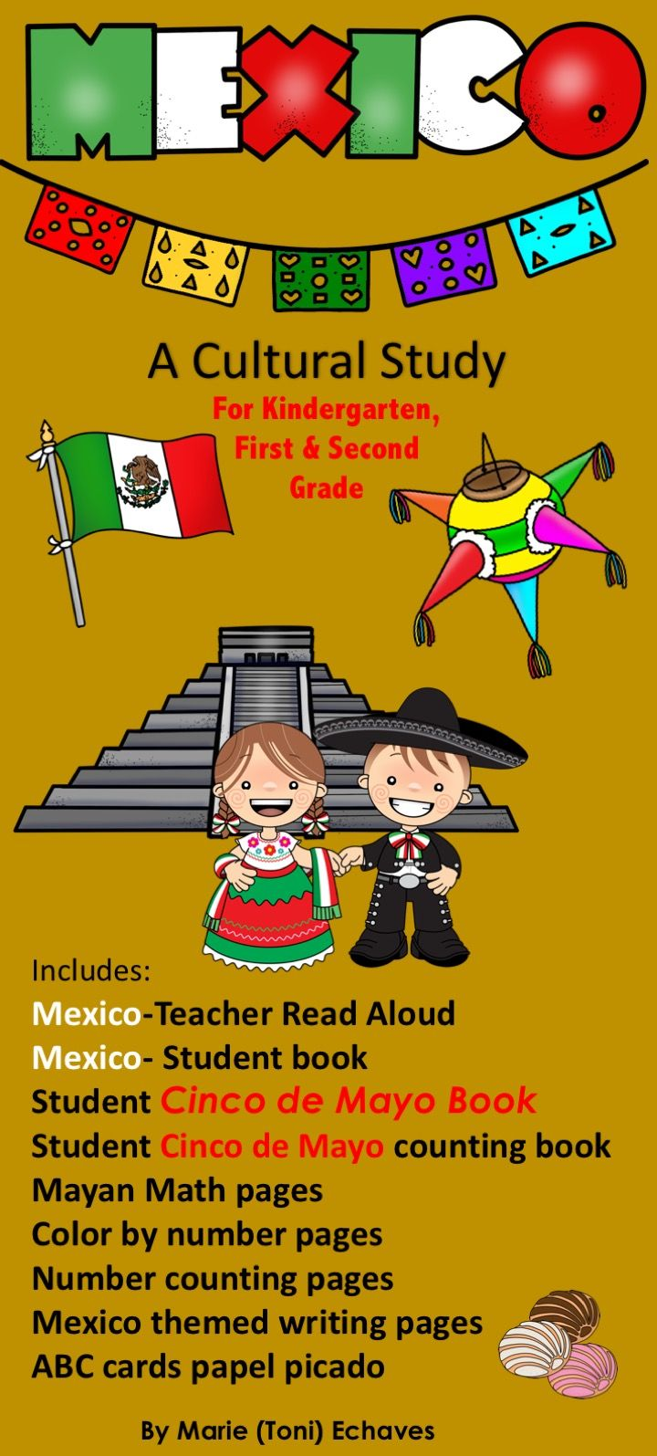 Mexico a Cultural Study & Cinco de Mayo   Word wall letters, Reading ...