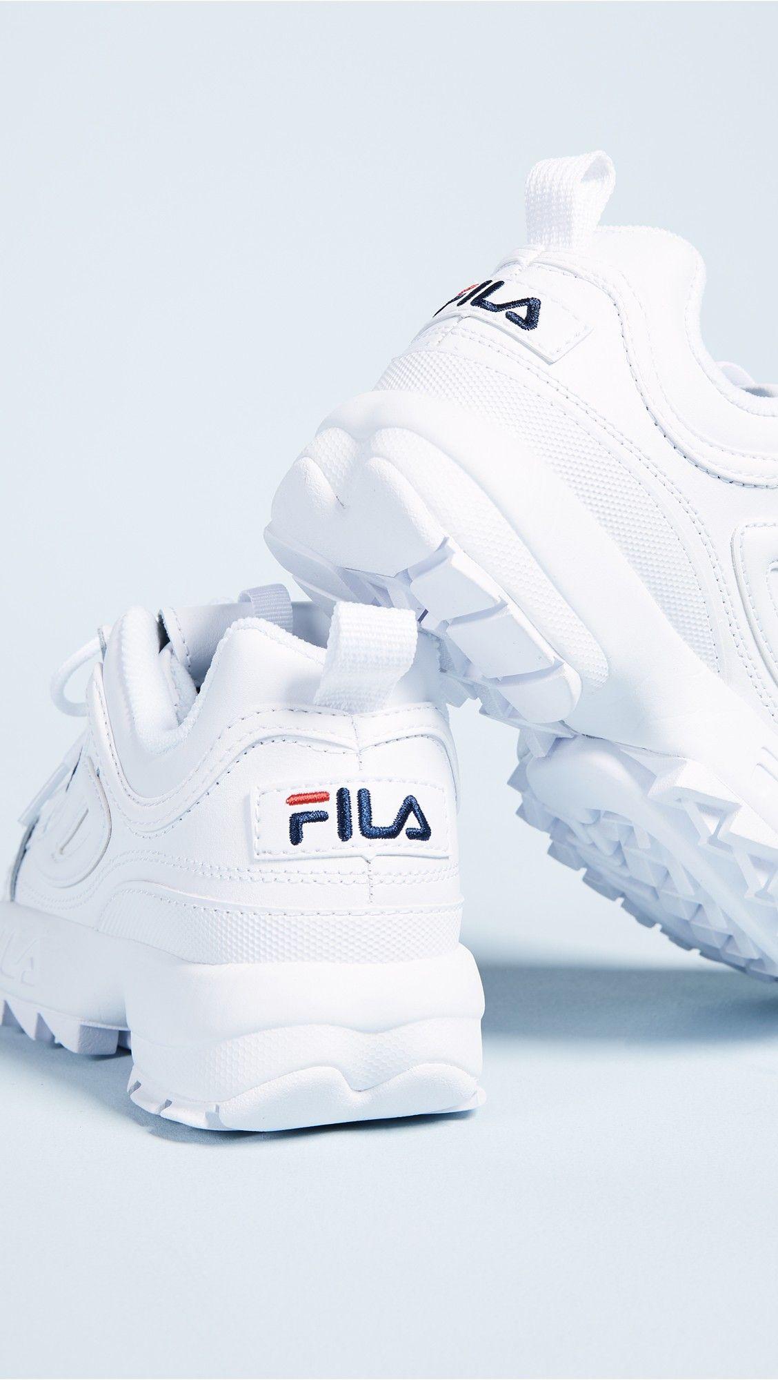 Disruptor II Premium Sneakers | Sneakers, Fila disruptors, Shoes