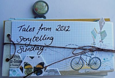 A lovely way to collect your Storytelling Sunday stories together. From Scattychick of Scraps of Me