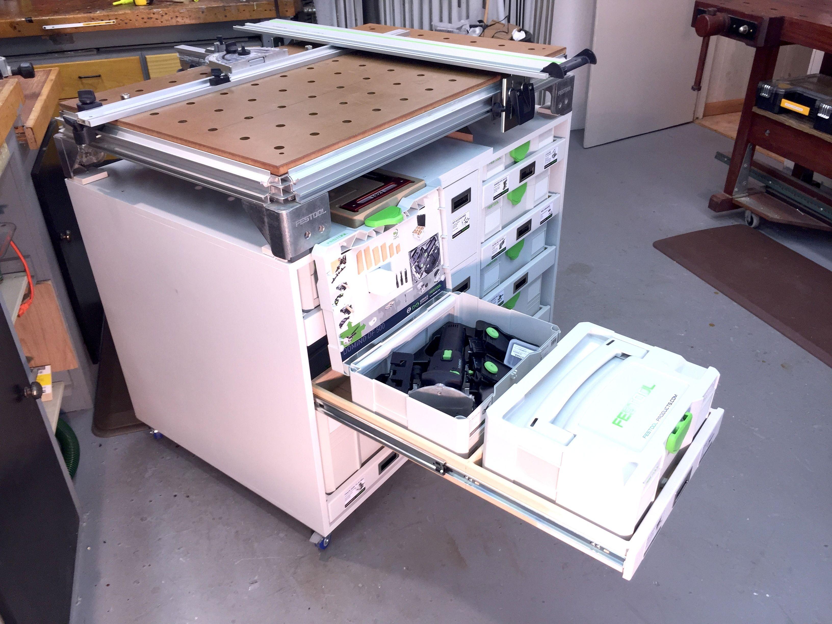 SYS A-Z drawers | Festool - MFT Workbench / Sysport ...