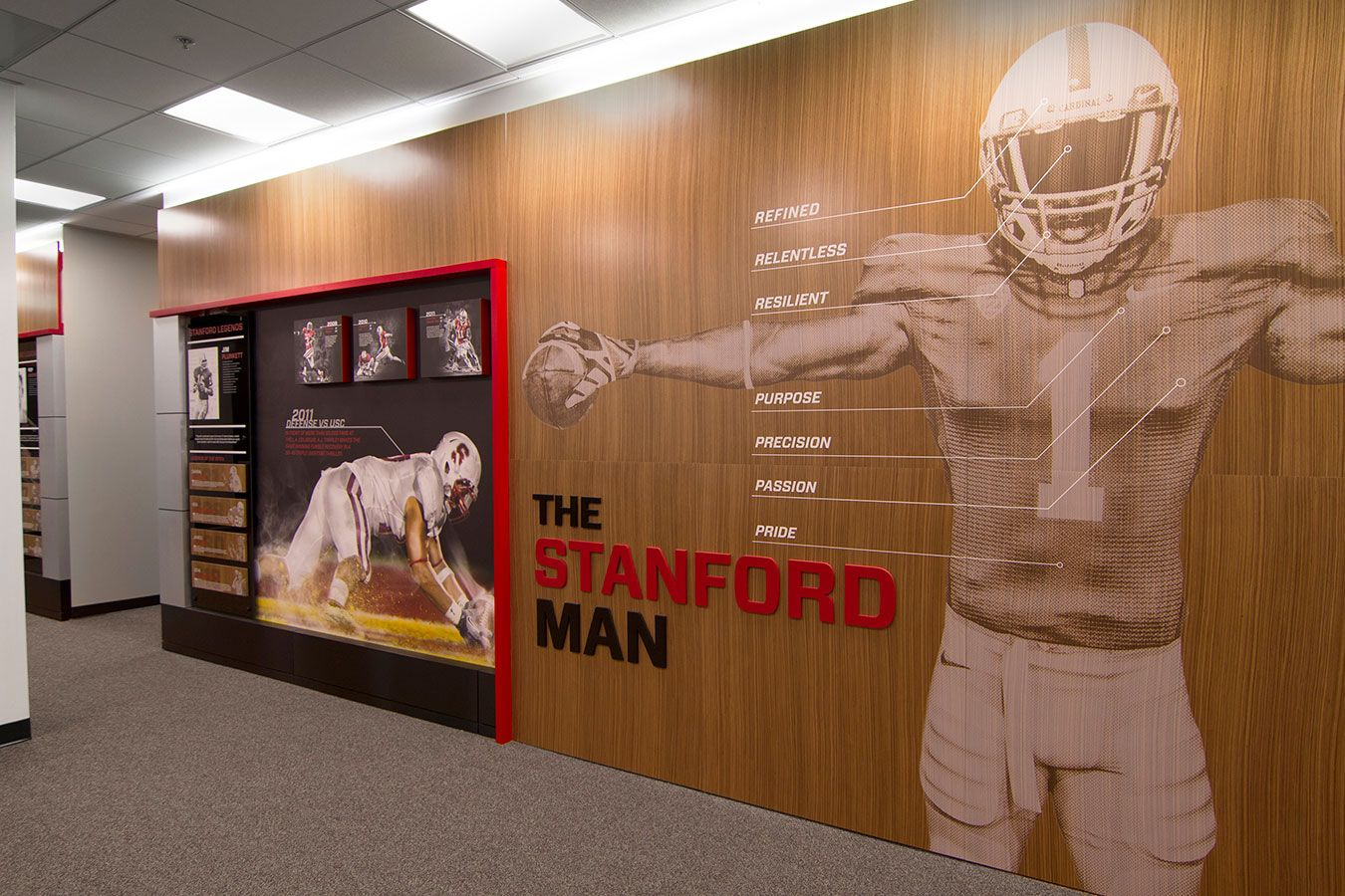 The Stanford Man Stanford Football Offices And Locker
