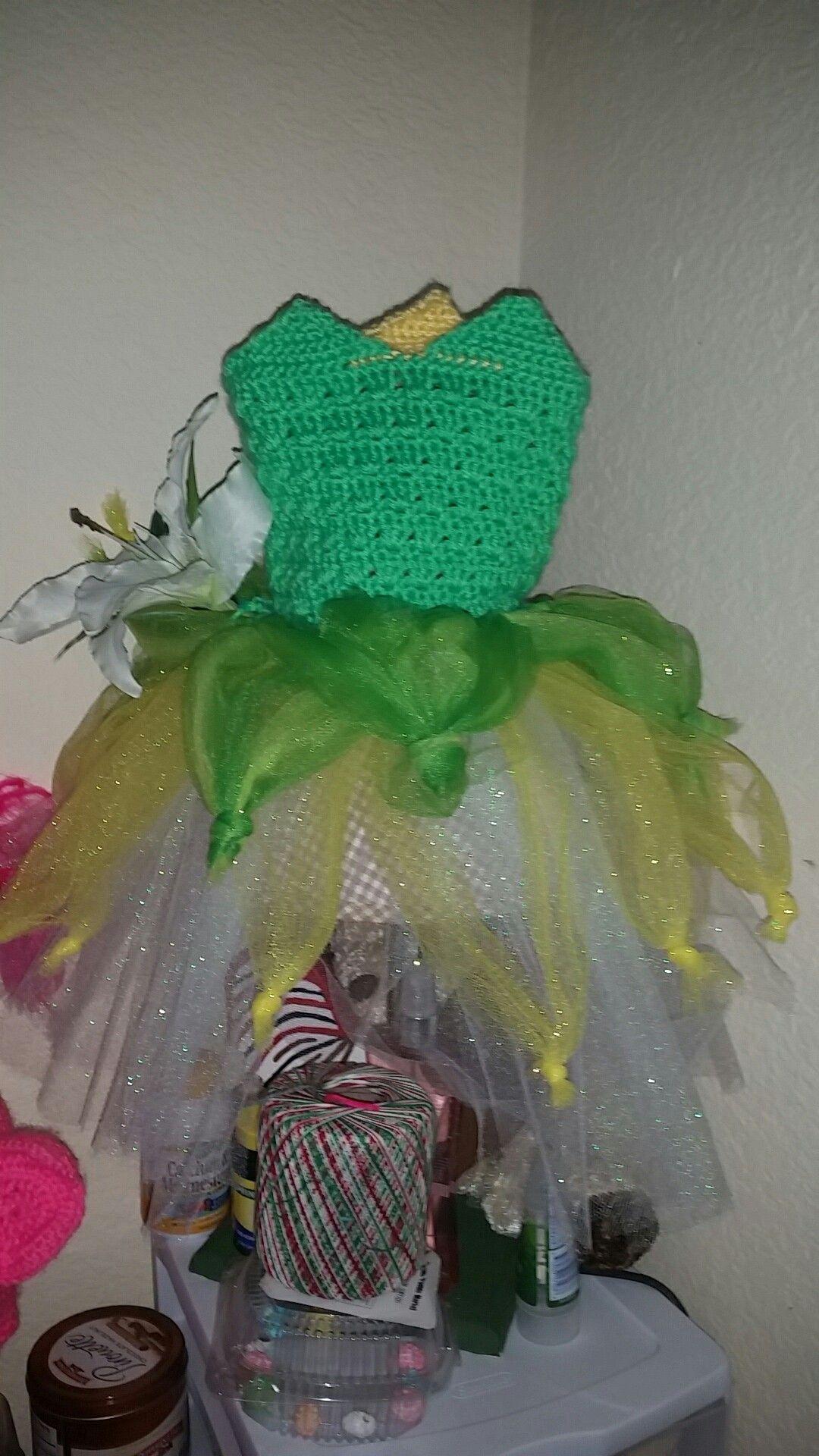 Vestido de la Princesa Tiana