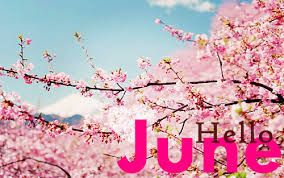 Hi! It's Hyrish Blog: Happy New Month....Hello June!