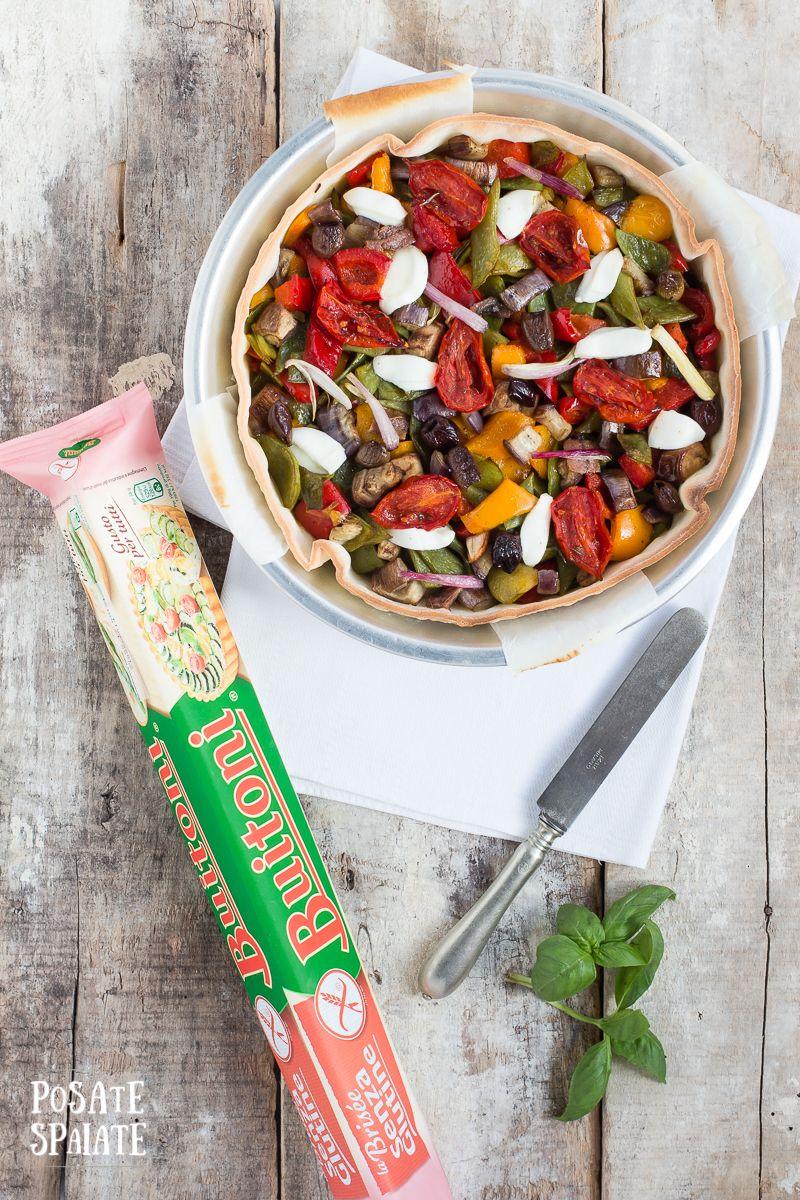 Torta salata senza glutine_Posate Spaiate