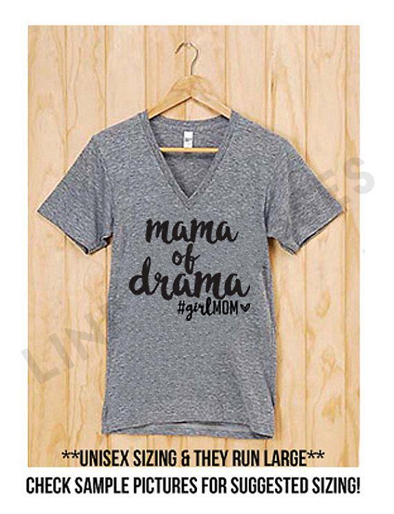 Mama Bear Childrens Cotton Gray Long Sleeve Round Neck Boys Or Girls Tee Shirt