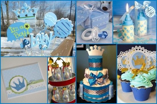 Royal Prince Baby Shower Ideas From HotRef.com #babyshowerideas #babyboy  #prince