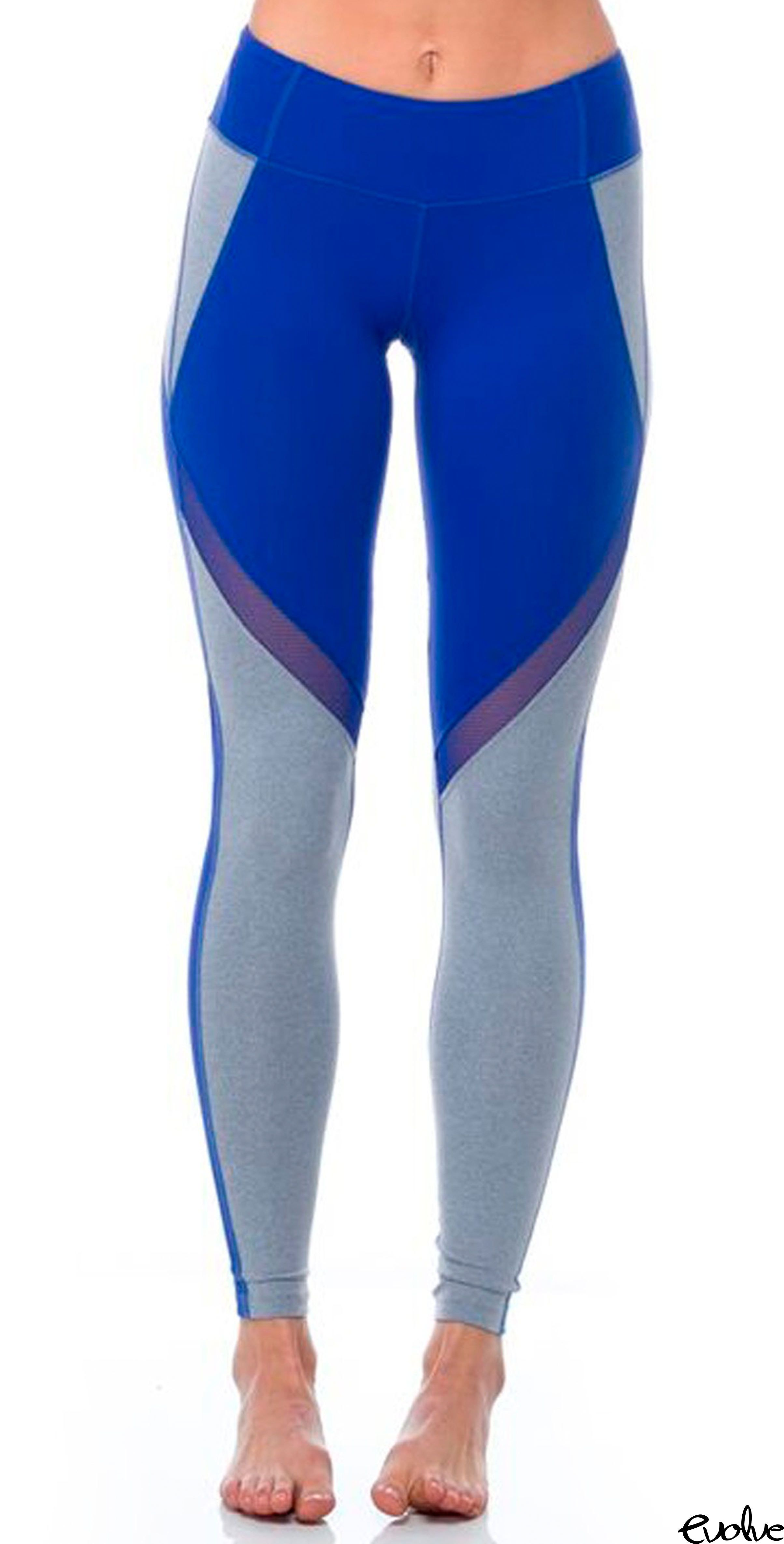 68c633cdfd7bac Brighten up your workout wardrobe with these sapphire Jordan Tights from  Splits59. Shop now at www.evolvefitwear.com.