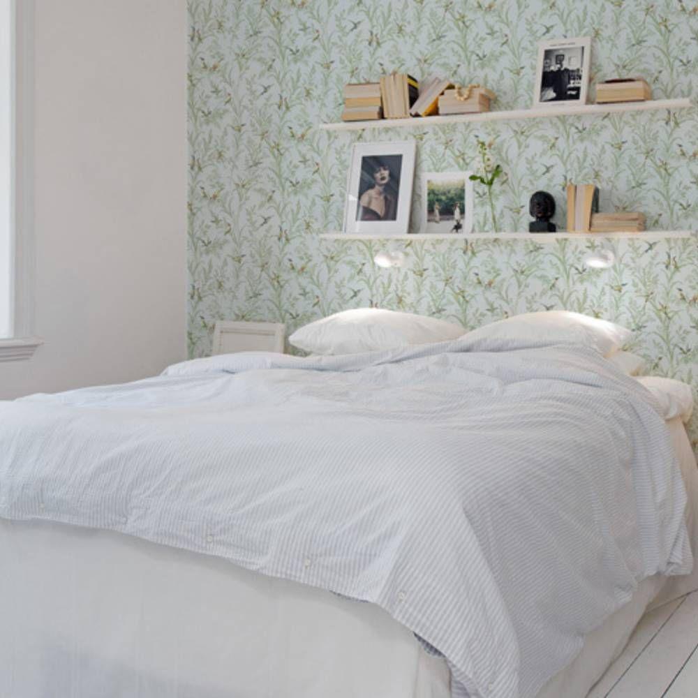 Décorez le mur au-dessus de votre lit - Elle Décoration  Deco