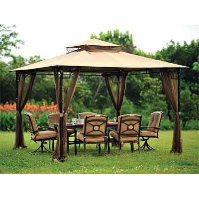 Bamboo Look Gazebo Replacement Canopy - 350  sc 1 st  Pinterest & Bamboo Look Gazebo Replacement Canopy - 350 | gardening ...