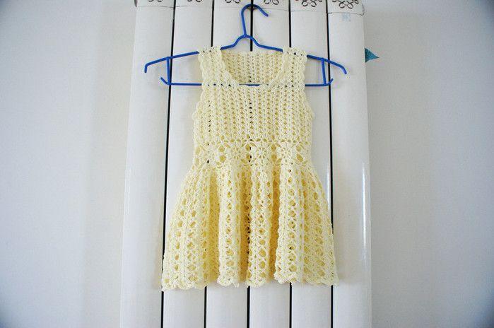 Modelitos en crochet finos tejidos de algodón con patrones ...