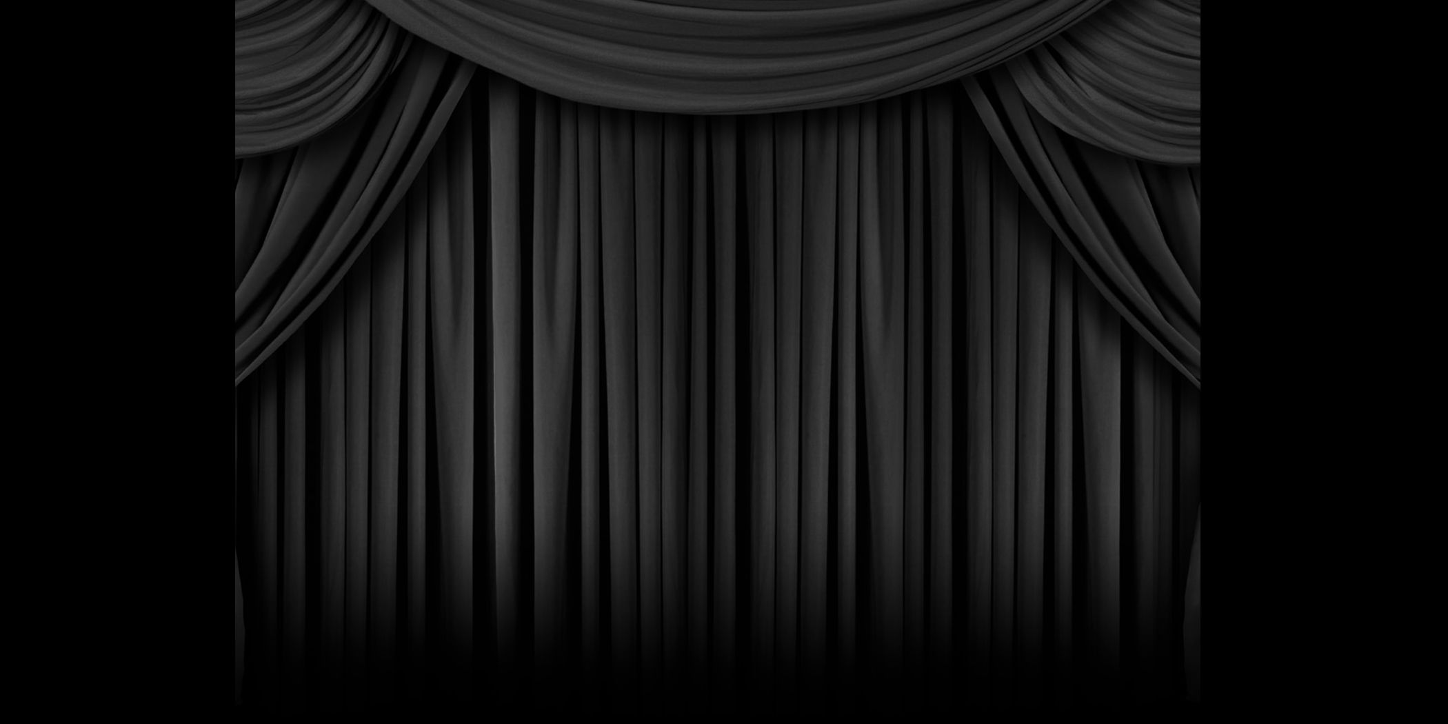 Theatre Curtains Black And White