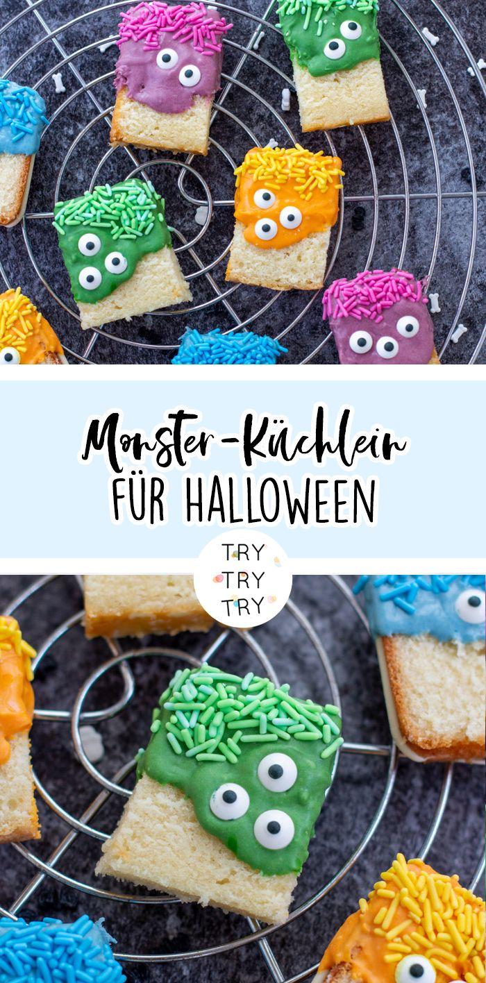Monster-Küchlein für Halloween