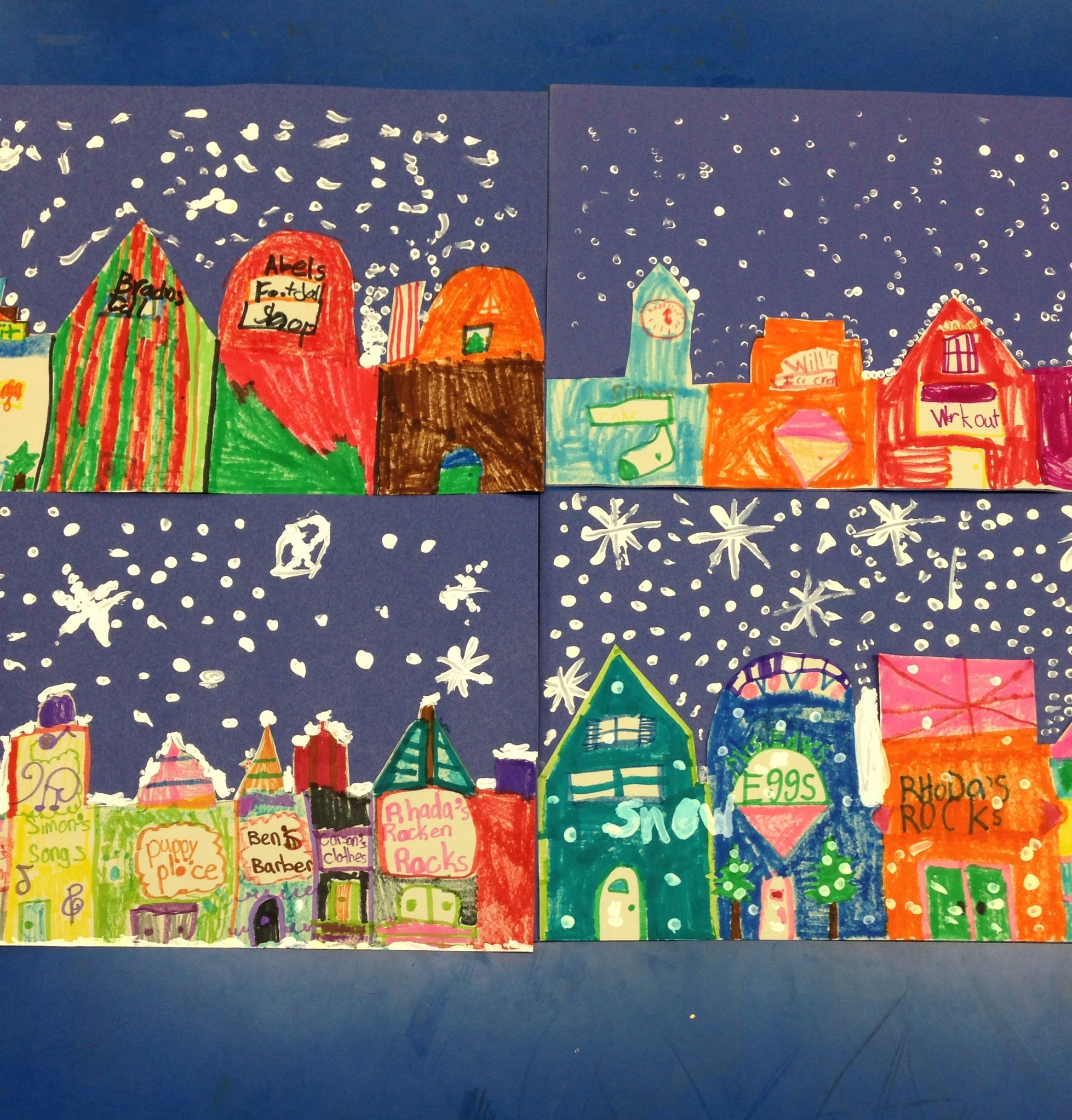 2nd Grade Art Projects For Winter
