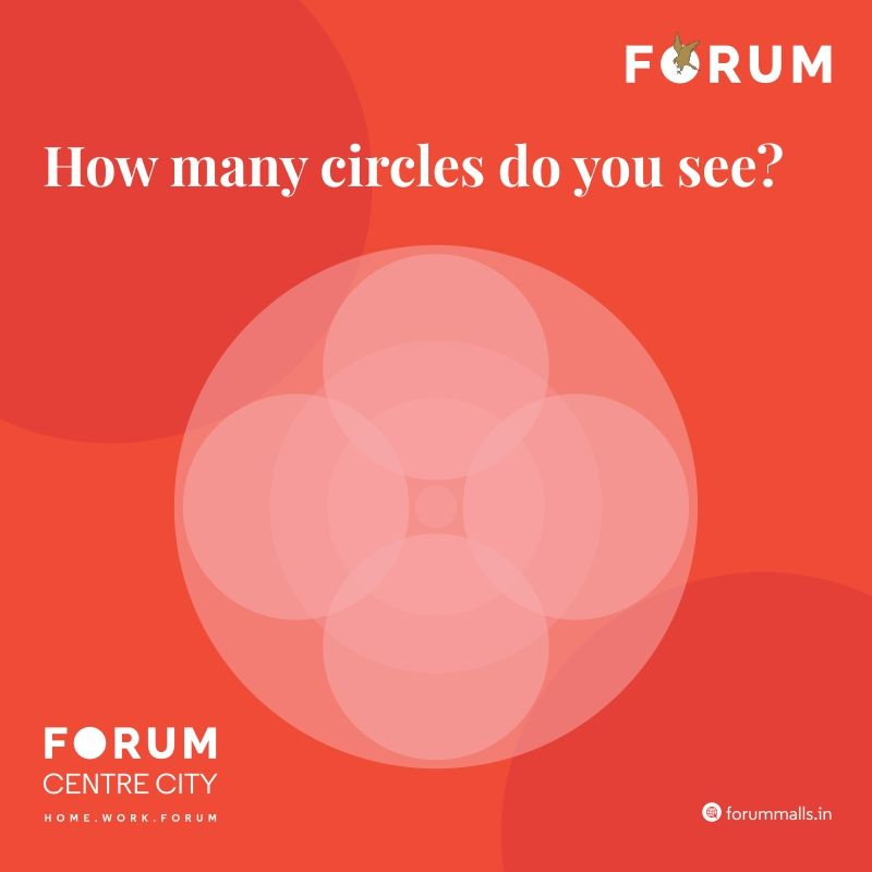 This Look for circles day, comment how many circles you see in the image! #nammamysuru #MaharajaofMalls #Openingsoon