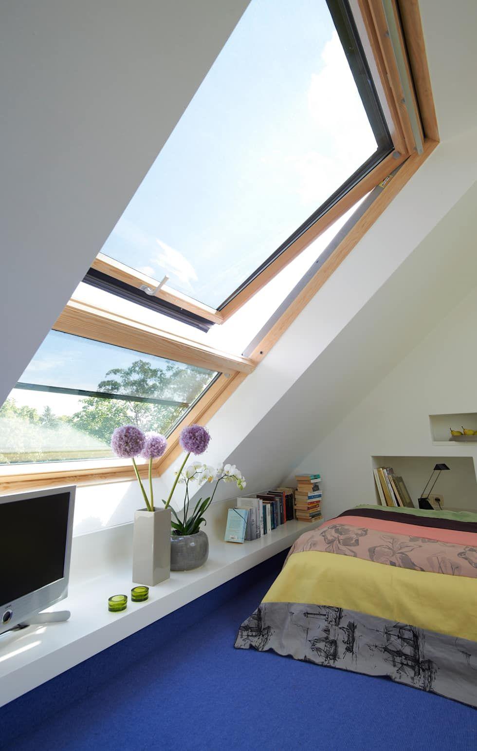 Dachstudio hamburg moderne schlafzimmer von dodk