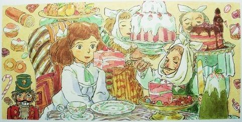 宮崎駿のファンタジー回帰 三鷹の森ジブリ美術館企画展示 クルミわり人形とネズミの王さま展 メルヘンのたからもの 三鷹の森ジブリ美術館 ジブリ 宮崎駿