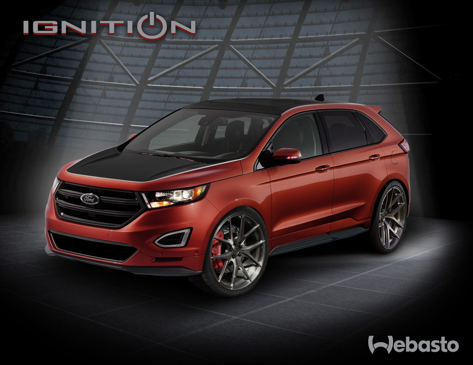 Check out 2015 Ford Edge by Webasto Rendering on Motoroso