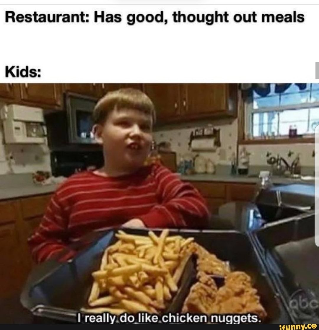 Restaurant Has Good Thought Out Meals Ifunny Funny Pictures For Facebook Funny Pictures Tumblr Dankest Memes