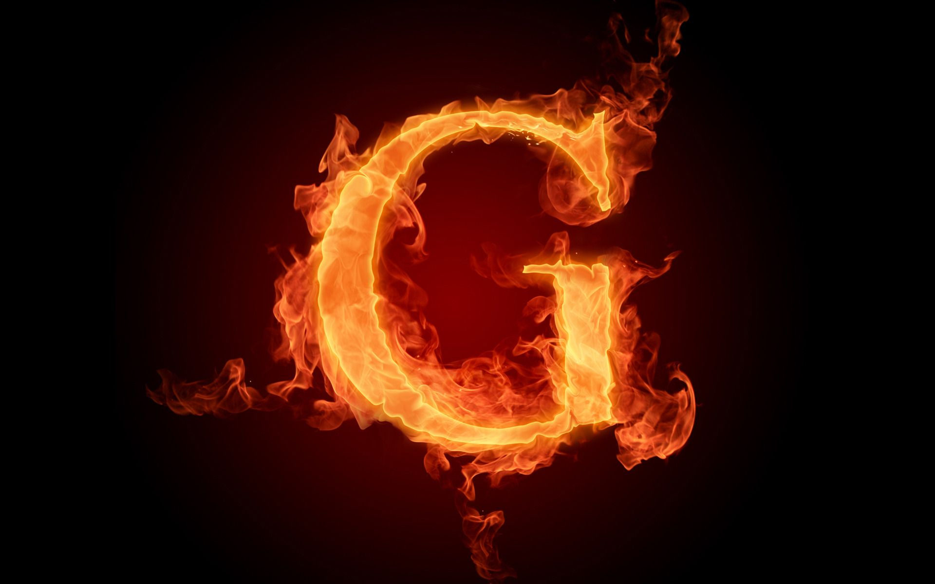 Hd Wallpapers The Fiery English Alphabet Picture G Letter