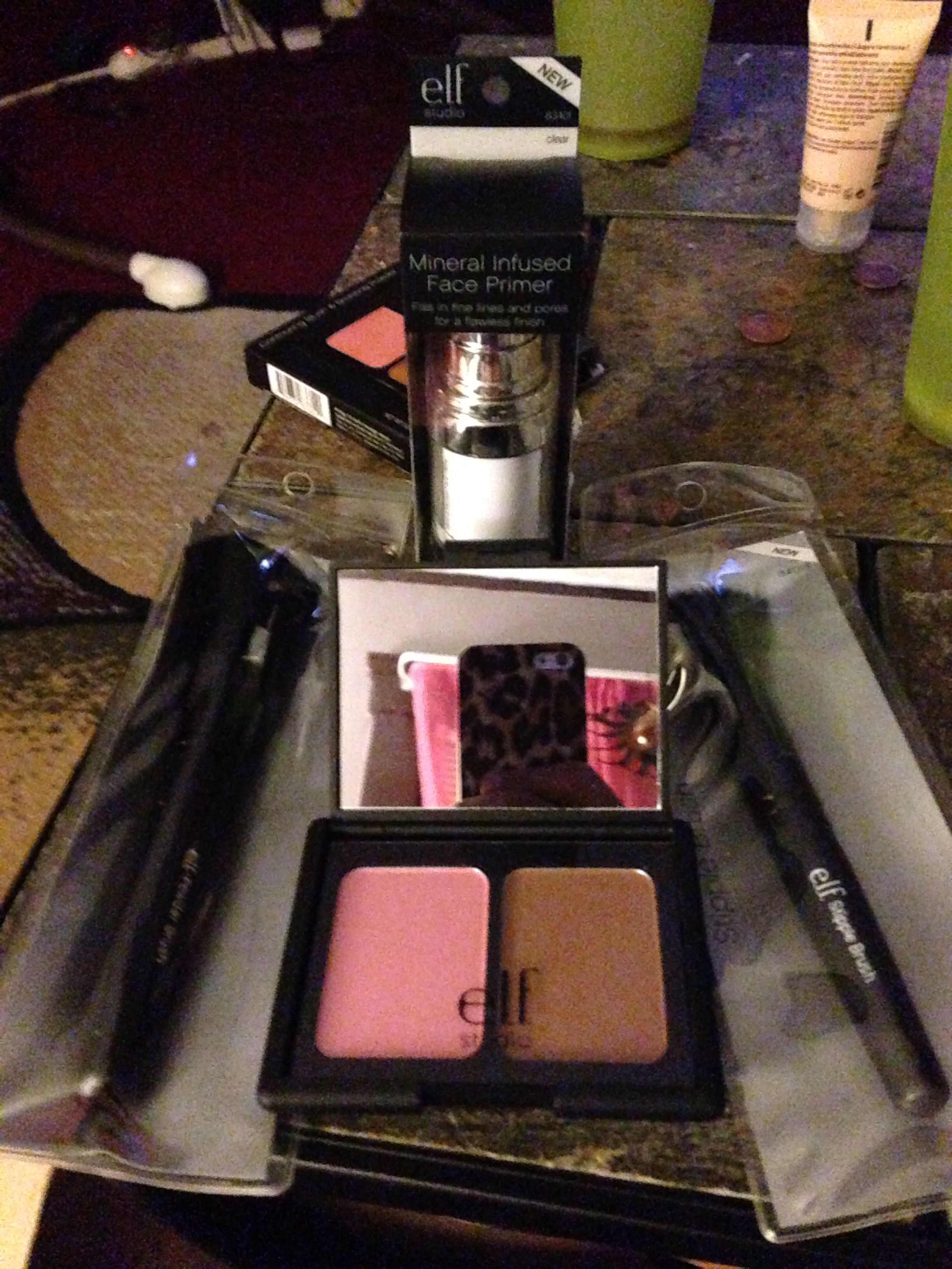 Elf purchases!!! Mineral primer (amazing) Contour and ...