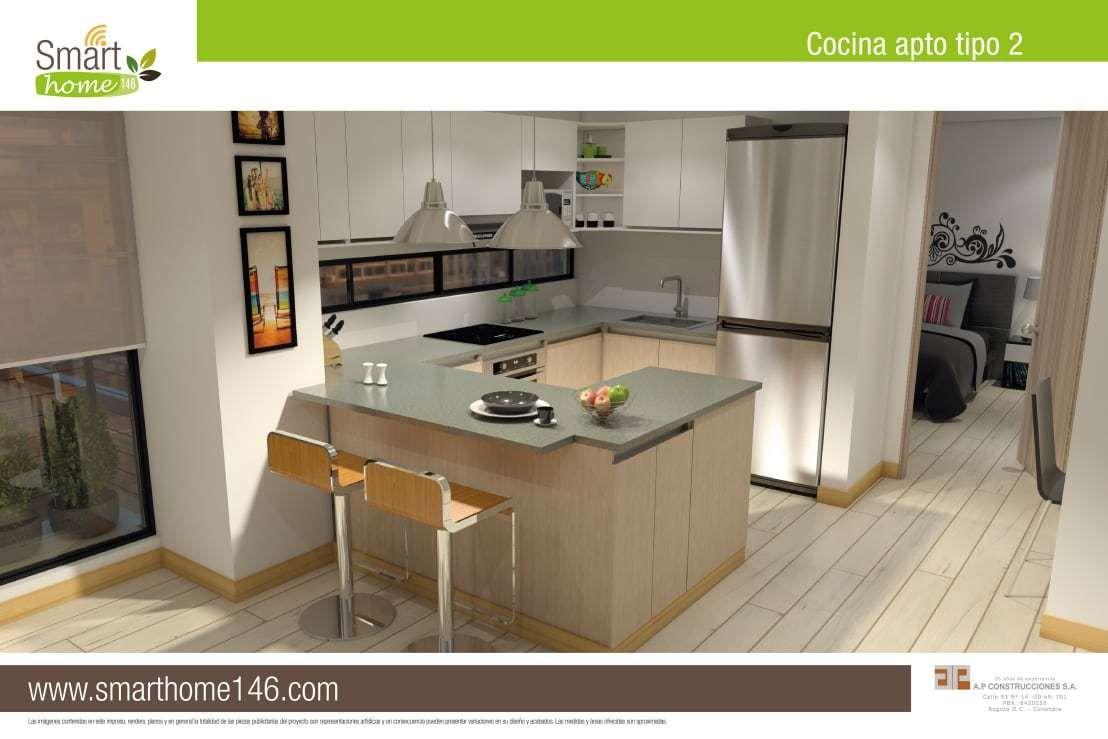 Con Una Alcoba 2 Ba Os Y Balc N Este Apartamento En Bogot Es La  # Muebles Full House Bogota
